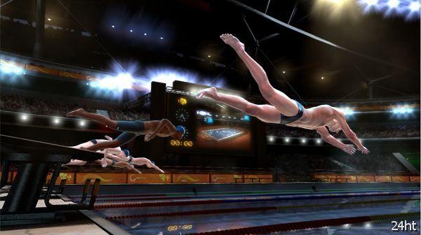 Британская студия Blitz Games разрабатывает симулятор пловца