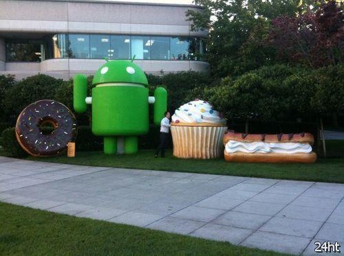Google подтвердила, что Ice Cream принесет интерфейс Android 3.0 для смартфонов