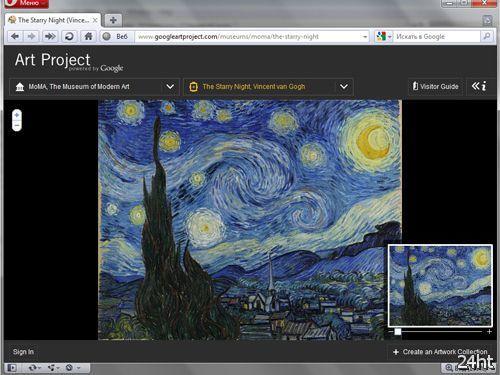 Google запустила интерактивный арт-проект