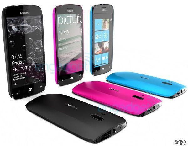 Концепт смартфона Windows Phone 7 от Nokia