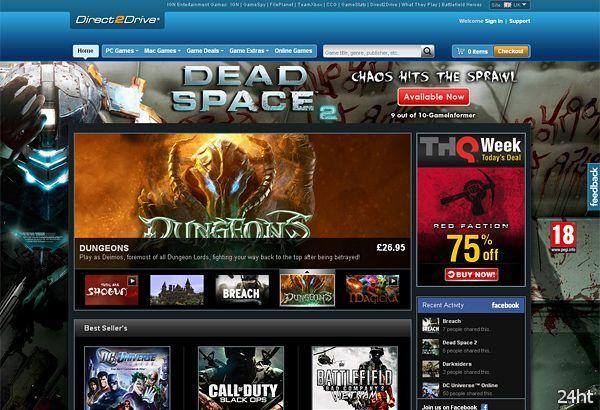 Портал IGN запускает сервис «Игры в аренду»