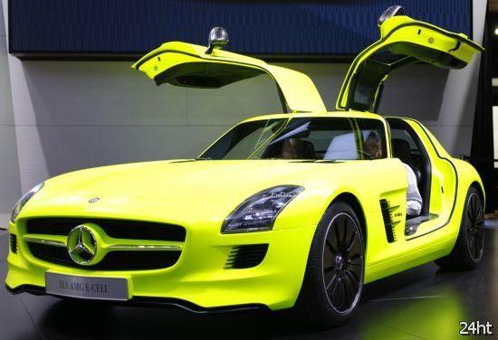 SLS AMG E-Cell - электромобиль следующего поколения от Mercedes-Benz