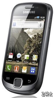 Samsung представила смартфоны Galaxy Ace, Fit, Gio и Mini