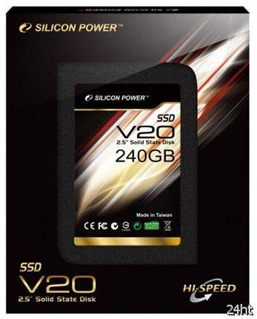 Silicon Power Velox V20 — быстрые SSD на базе контроллеров SandForce