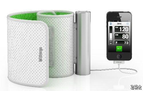 Withings представляет тонометр для iPhone