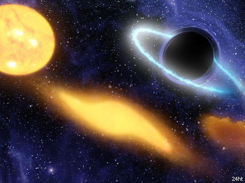 Гигантские черные дыры могли образоваться из квази-звезд