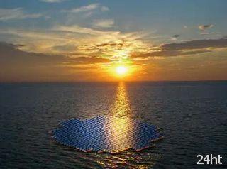 Израильтяне начали испытания плавающих солнечных электростанци