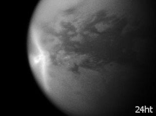 На Титане открыты весенние ливни