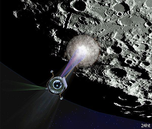 Столкновение зонда LCROSS с Луной привело к выбросу значительного объёма натрия
