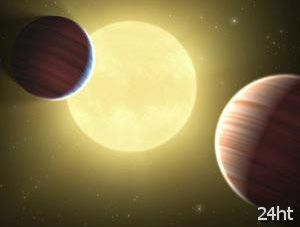 Впервые найдены две планеты на одной орбите