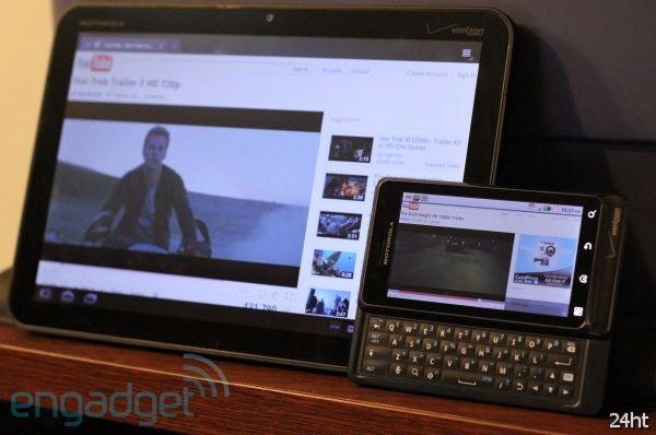 Flash 10.2 появился на Android, Adobe обещает поддержку 720p в скором времени