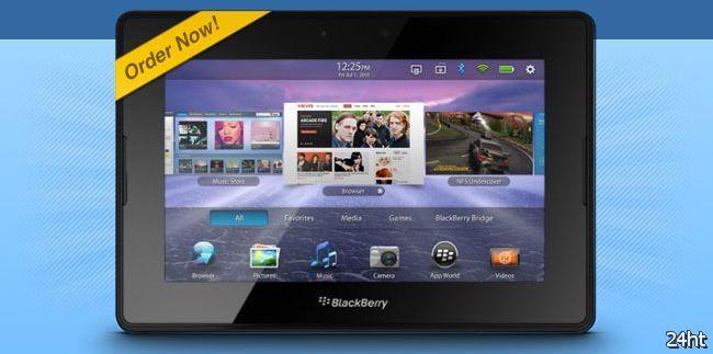 Фото дня: PlayBook c Android 3.0 появился на время в ассортименте MacMall