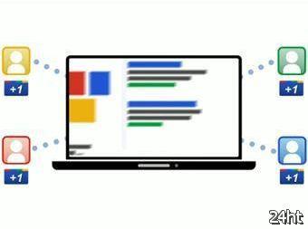 """Google представила кнопку-конкурента """"Like"""""""