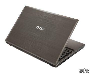 MSI оснащает ноутбуки GE620 и GR620 четырехъядерными ЦП Intel Core i7 второго поколения