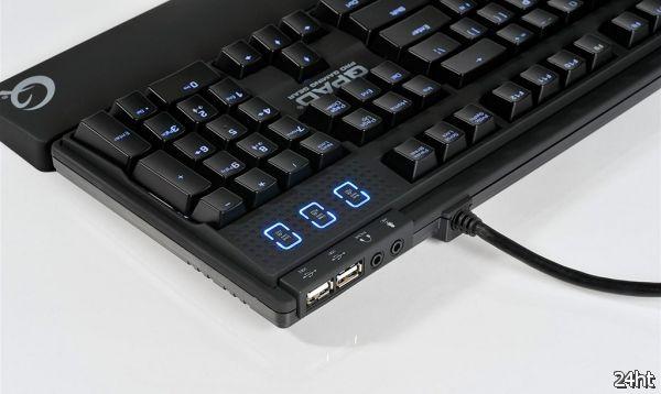 Механическая клавиатура QPAD MK-80 для хардкорных геймеров