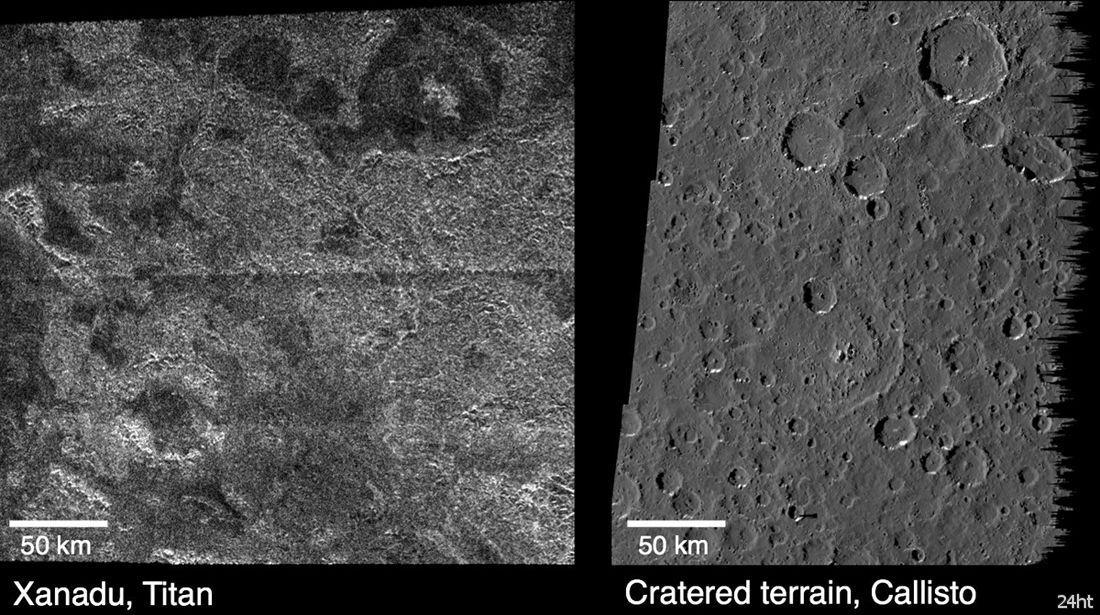 На Титане все-таки нет ледяных вулканов?