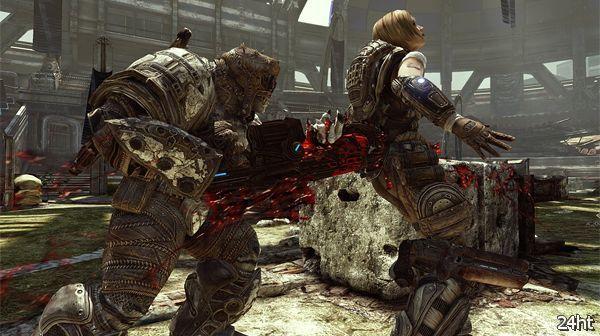 Началось открытое бета-тестирование Gears of War 3