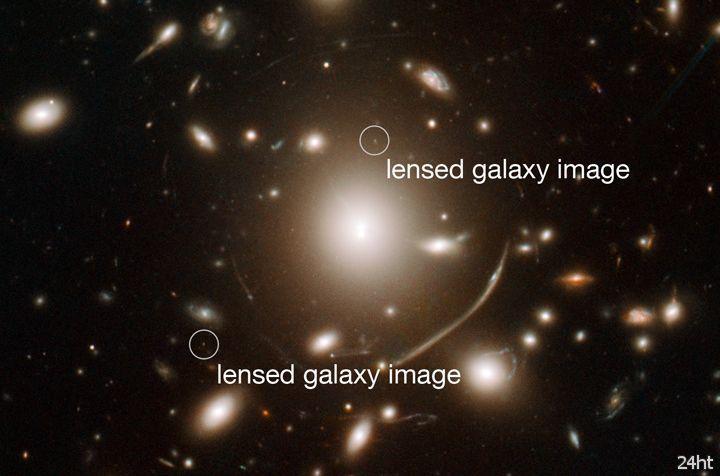 Найдена первая галактика во Вселенной