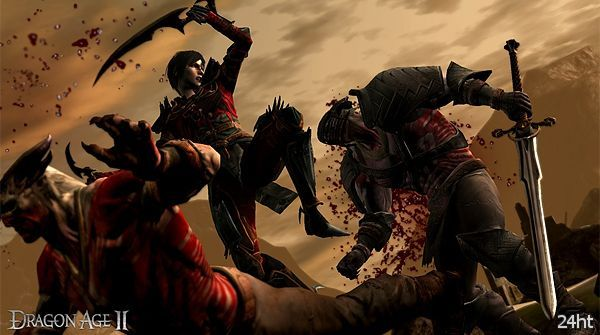 Продажи Dragon Age II превысили миллион экземпляров