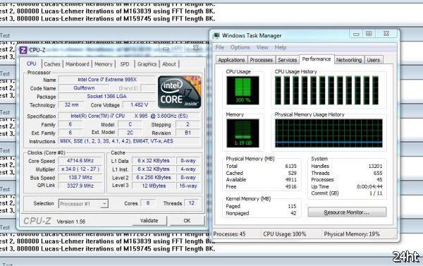 Процессор Intel Core i7-995X Extreme Edition станет лебединой песней платформы LGA1366