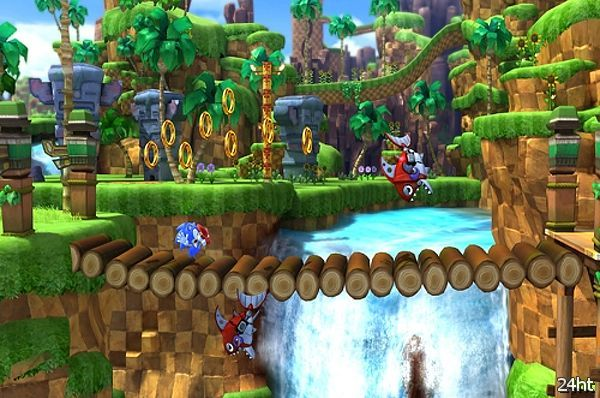 SEGA анонсировала игру Sonic Generations