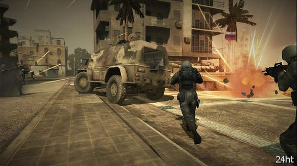 Состоялся релиз сетевого тактического шутера Battlefield Play4Free