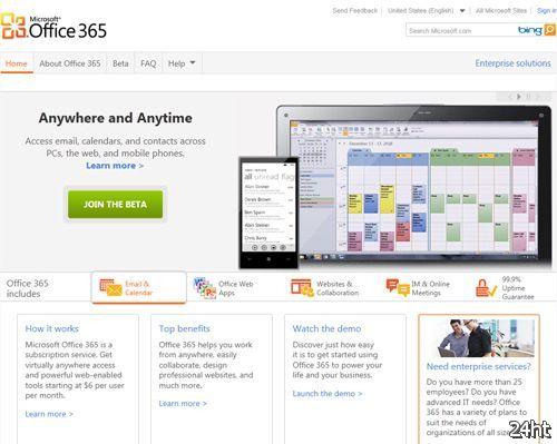 Стартовало публичное бета-тестирование пакета Microsoft Office 365
