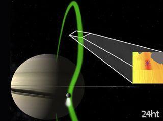 Выявлен электрический ток между Сатурном и Энцеладом