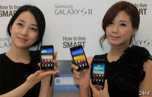 До конца года Samsung продаст 10 миллионов Galaxy S II