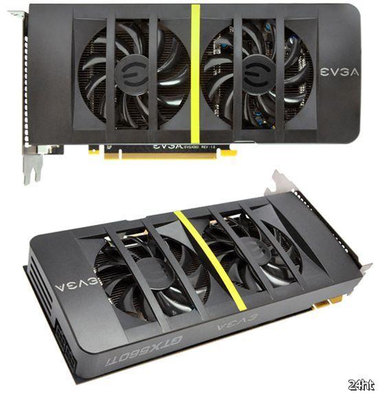 EVGA GeForce GTX 560 Ti с разгоном под двумя «опахалами»