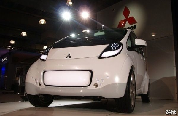 Электромобиль Mitsubishi i-MiEV подбирается к США… медленно