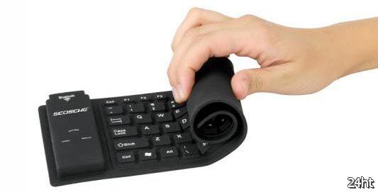 Гибкая водонепроницаемая клавиатура Scosche freeKEY