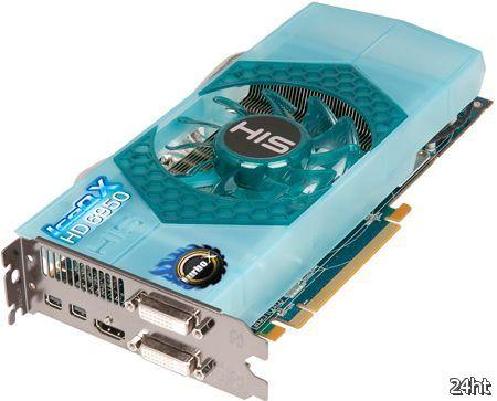 HIS предложила четыре видеокарты на базе AMD Radeon HD 6950 c системой охлаждения IceQ X