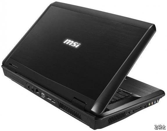 "Характеристики 17,3"" геймерского ноутбука MSI GX780"