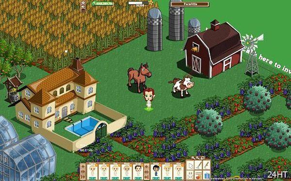 Леди Гага запоёт в FarmVille