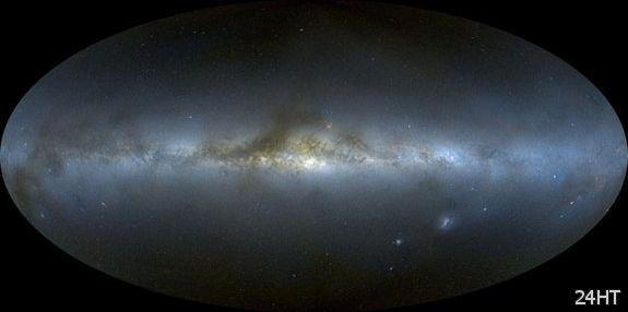 Млечный Путь изогнут, как Сомбреро и более симметричен, чем считалось