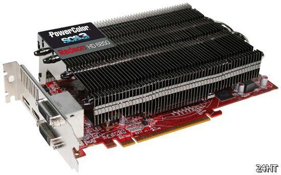 Официально о PowerColor Radeon HD 6850 с пассивным охлаждением