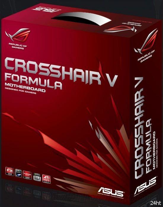 Плата ASUS Crosshair V Formula сертифицирована для SLI