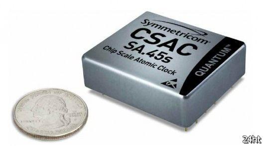 Разработаны миниатюрные атомные часы