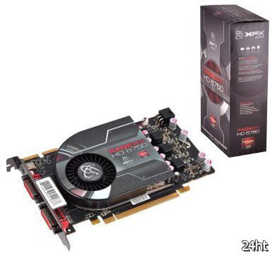 Розничные версии Radeon HD 6770 и Radeon HD 6750 от XFX