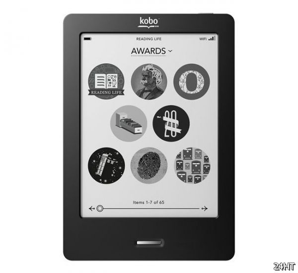 Сенсорная читалка Kobo eReader Touch Edition