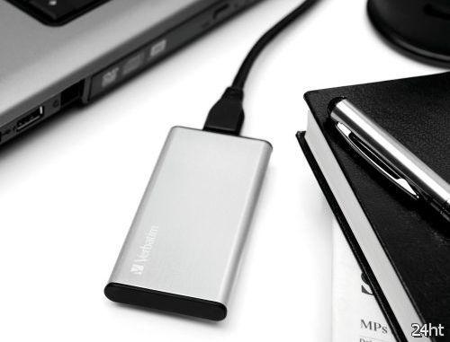 Verbatim USB 3.0 External SSD: высокоскоростной внешний SSD-накопитель