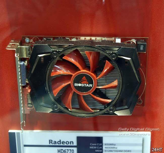 Computex 2011: материнская плата Biostar на чипсете AMD 990FX и не только
