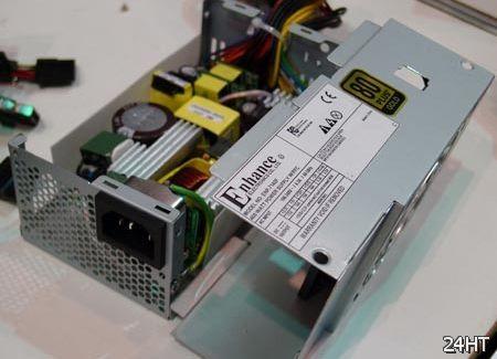 Компания Enhance показала блок питания мощностью 400 Вт с пассивным охлаждением