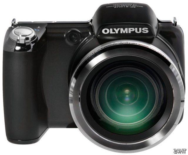 Компактная камера с полноценным объективом (3 фото)