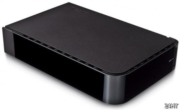 Тихий 3-Тбайт HDD Buffalo HD-LBFV3.0TU2