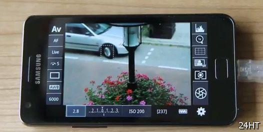 DSLR Controller - смартфон в качестве монитора видеонаблюдения (видео)