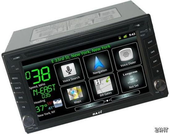 Innotrends Ca-Fi System – магнитола с Android'ом
