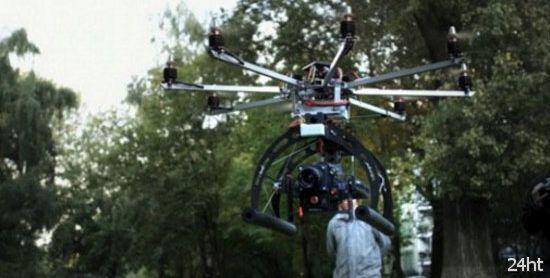 Летающий роботизированный штатив (видео)