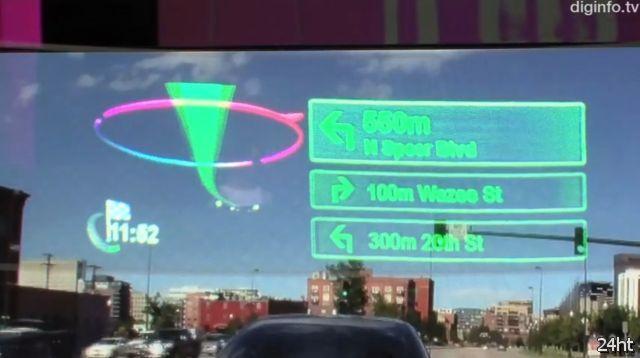 Навигационная система нового поколения от Pioneer (видео)